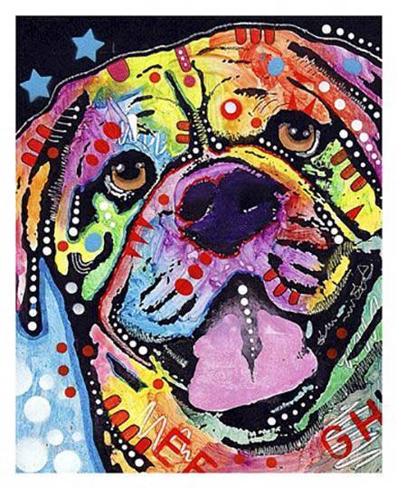 New    Bosco Rottweiler by Dean Russo Fine Dog Art Print Home Wall Decor 796098 61ae27
