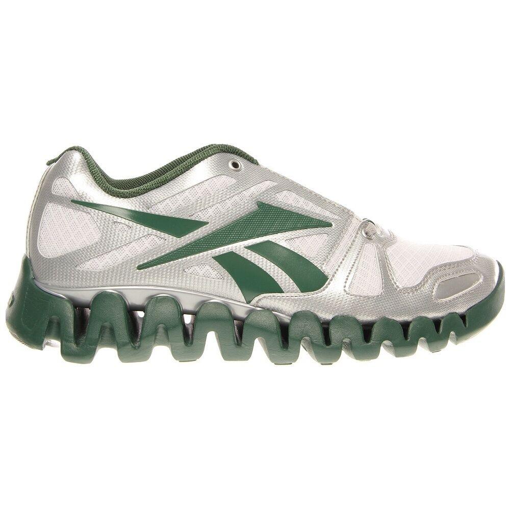 NEW REEBOK ZIGTECH ZIG DYNAMIC Running MENS Green White Silver NIB