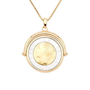 18k Gold Over Sterling Silver Italian