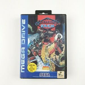 Skeleton-Krew-Sega-Mega-Drive-PAL-Complete-Great-Condition-Aus-Seller