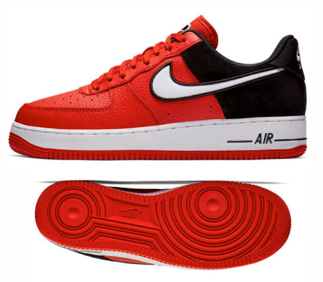 red and black nike air force