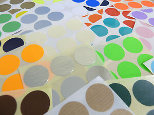 25mm-Round-Colour-Code-Stickers-Packs-of-30-Coloured-Circular-Sticky-Labels