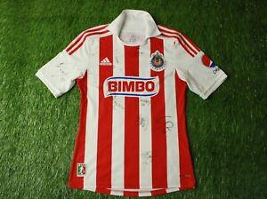Details about CHIVAS DE GUADALAJARA 2012/2013 RARE FOOTBALL SHIRT JERSEY HOME ADIDAS ORIGINAL