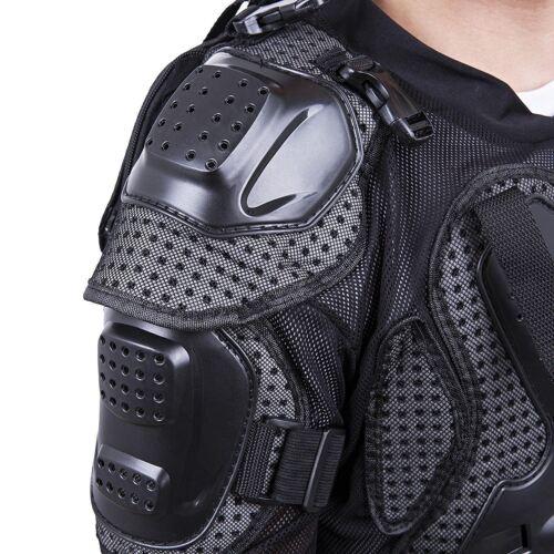 Black MX Protective Dirt bike Wear Gear Body Armour OffRoad MX Design Style XMAS