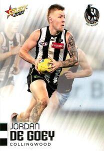 New-2020-COLLINGWOOD-MAGPIES-AFL-Card-JORDAN-DE-GOEY-Footy-Stars