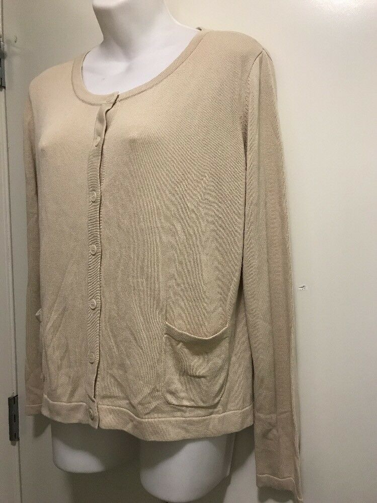 Weekend Max Mara Sweater Knit Beige Beige Beige Top d7f4df