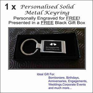 Personalised-Engraved-Metal-Keyring-in-FREE-Black-Gift-Box-Wedding-Bomboniere
