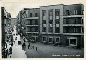 Cartolina-di-Siracusa-strada-affollata-1943