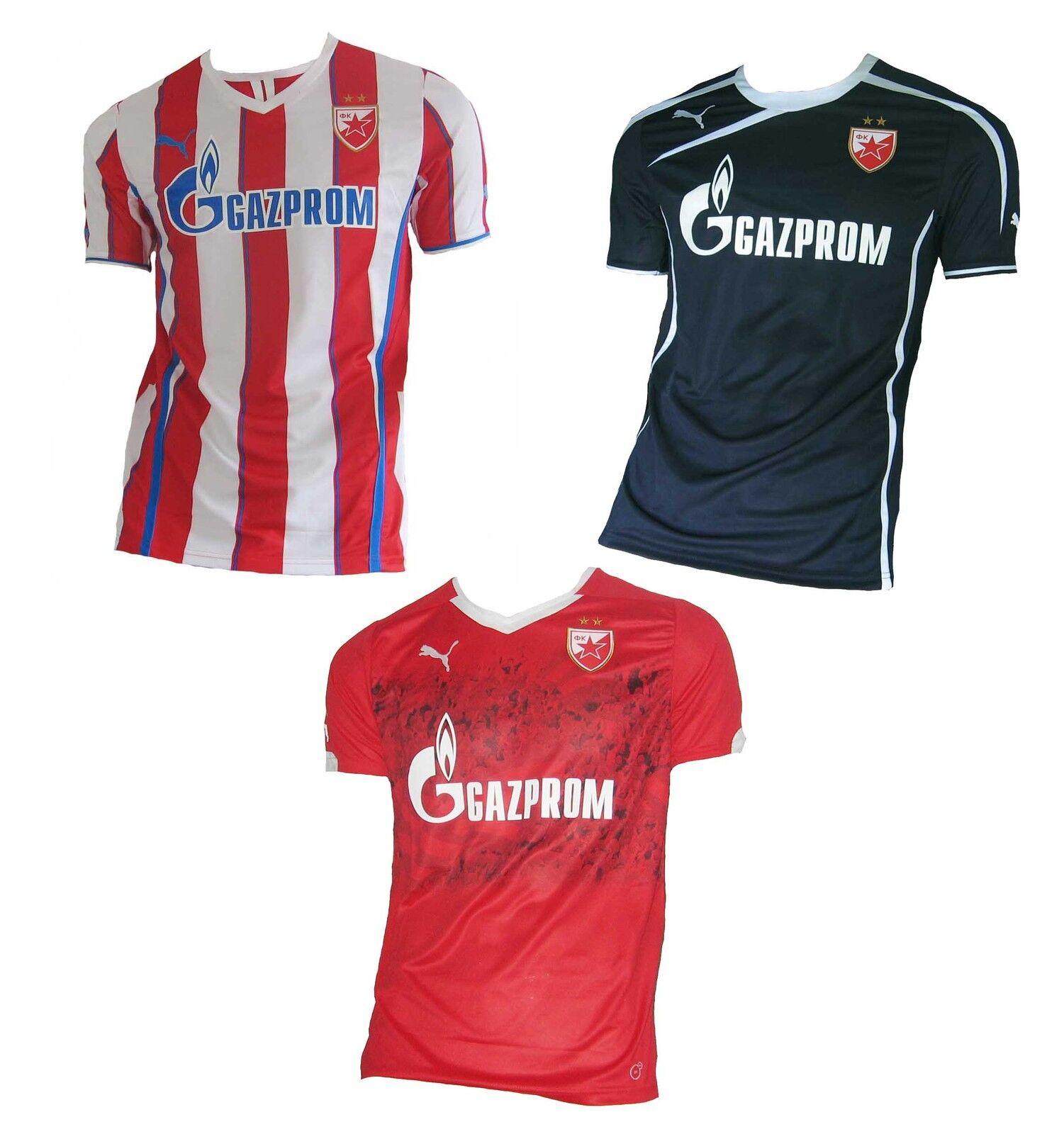 Roter Stern Belgrad Trikot Puma Crvena Zvezda Serbien  | | | Starker Wert  2eb38e