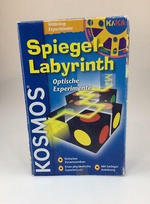 """""""specchio-labirinto-esperimenti Ottici"""" Cosmo Esperimenti-inth - Optische Experimente"""" Kosmos Experimentierkasten It-it Mostra Il Titolo Originale"""