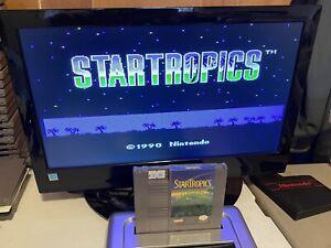 100-WORKING-NINTENDO-NES-SUPER-FUN-CLASSIC-RPG-Game-Cartridge-STARTROPICS