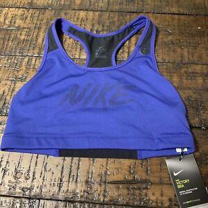 Nike Women/'s Dri-Fit Victory Sports Bra Purple Size Large 928871 428