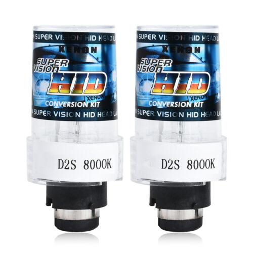 2PC 35W 55W 12V D2S D2C Hid Car Xenon Headlight Replacement Bulbs Bright Lamps
