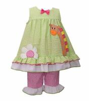 Bonnie Jean® Toddler Girl 2t-4t Giraffe 2-piece Dress & Leggings Set $54