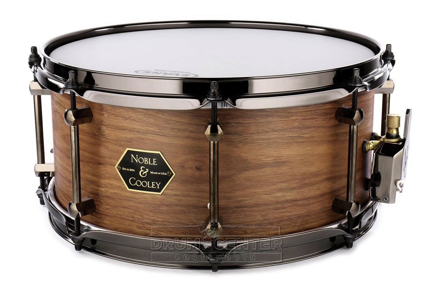 Noble And Cooley Walnut Snare Drum 13x6.5