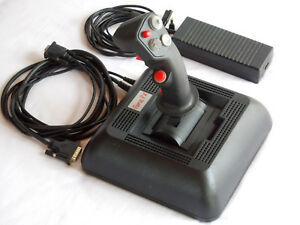 The First Force Feedback Joystick - CH Products Force FX...