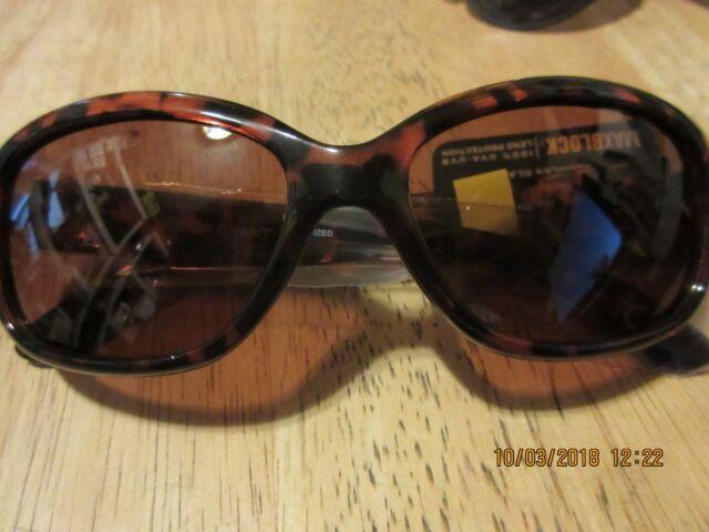 699686124fb Foster Grant Core Election Sunglasses Polarized Uva uvb Tortoise Eg0915