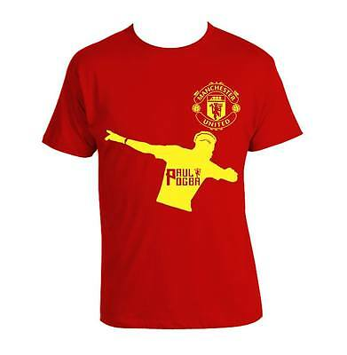Manchester United Paul Pogba Footballer 100% Cotton POGBA T-shirt UNISEX