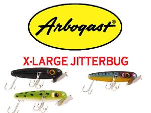 Arbogast-XL-Jitterbug-4-1-2-1-1-4-oz-Model-G700-Choice-of-Colors