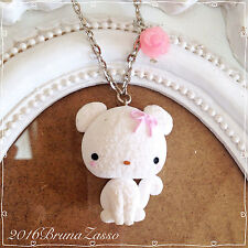 Collana Cagnolino Cucciolo Cane ~ Cute Puppy Necklace Fimo Polymer Clay Kawaii