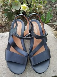 500c17fc5bea 8.5 Naturalizer Women s Black Strappy Sandals Shoes N5 Comfort ...