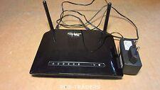 D-LINK Wireless ADSL Router DSL-2741B 4X LAN INCL PSU & ANTENNAS