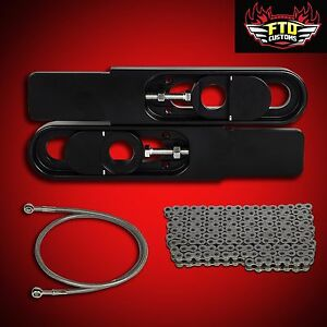 "Swingarm Extension ZX14-R 2013 ZX14R Swingarm Extensions /& 36/"" Brake Line"