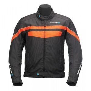 Spada Boulevard CE Motorcycle Jacket S Black Fluo
