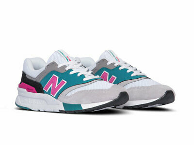 New Balance 997 South Beach White Pink Teal Green Black Sz 12 CM997HZH |  eBay