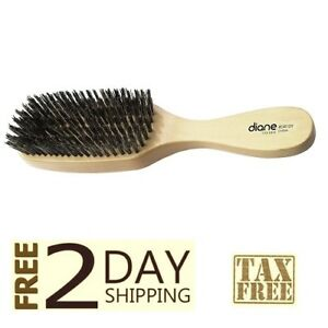 DIANE-EXTRA-FIRM-REINFORCED-BOAR-BRISTLE-WAVE-BRUSH-BROWN-NEW