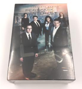 Person-of-Interest-Complete-Series-Season-1-5-DVD-Region-1-Brand-New