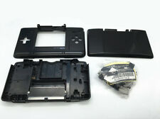 D Black Replacement Housing Shell Faceplate Case Cover f Nintendo DS NDS Console
