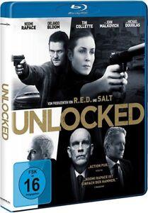 UNLOCKED (Noomi Rapace, Orlando Bloom) Blu-ray Disc NEU+OVP