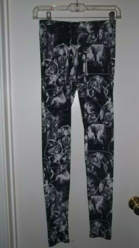 Britney Spears Collection Leggings Size Large Face