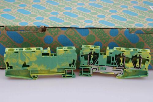 1 Stück  PHOENIX CONTACT ST 6-TWIN-PE  3036482 Schutzleiter-Reihenklemme