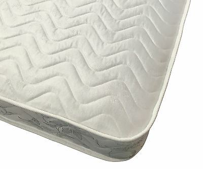 SHORTY 2ft6 Single 175cm x 75cm Budget Mattress FREE DELIVERY (Wavy Darcy)