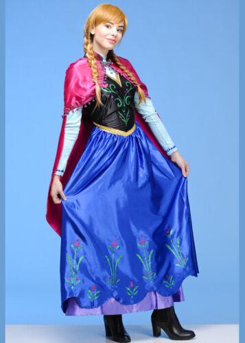 Frauen Disney Frozen Anna Kostüm