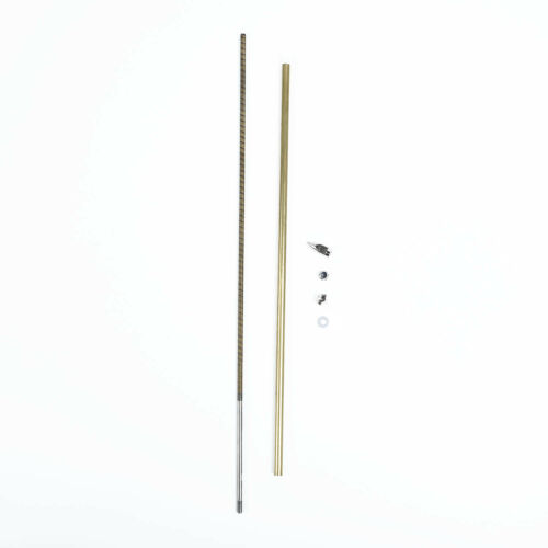 New RC Boat 4mm CW//CCW Flex Cable Flexible Shaft 300//350mm Prop Nut Drive Dog