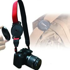 UK 55mm Camera Lens Cap Holder Keeper Buckle for Canon EOS Sony