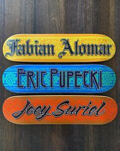 NOS-Menace-Fabian-Alomar-Eric-Pupecki-Joey-Suriel-Skateboards-RARE