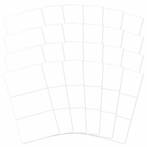 Hunkydory-Moonstone meurt-Tri-Panel Carte Vierges /& Enveloppes-SHA281