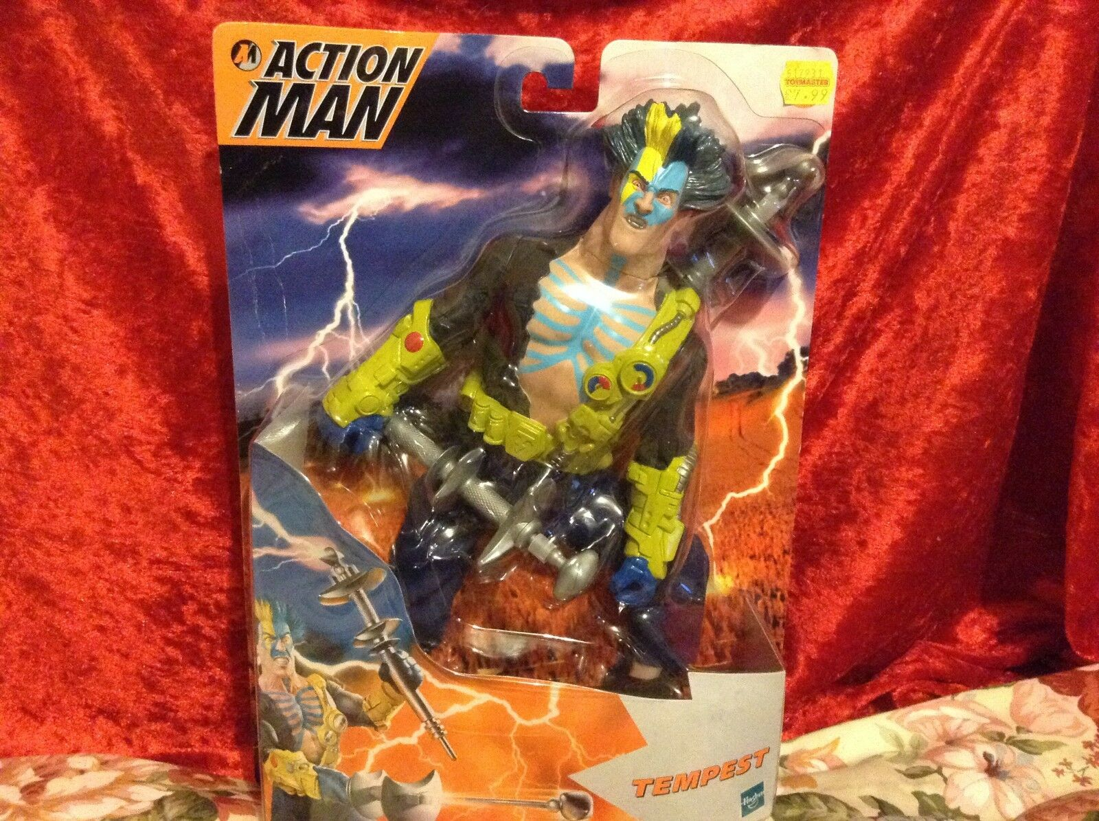 RARE ACTION MAN Tempest, BRAND NEW, BOXED, Released in 2000, Hasbro