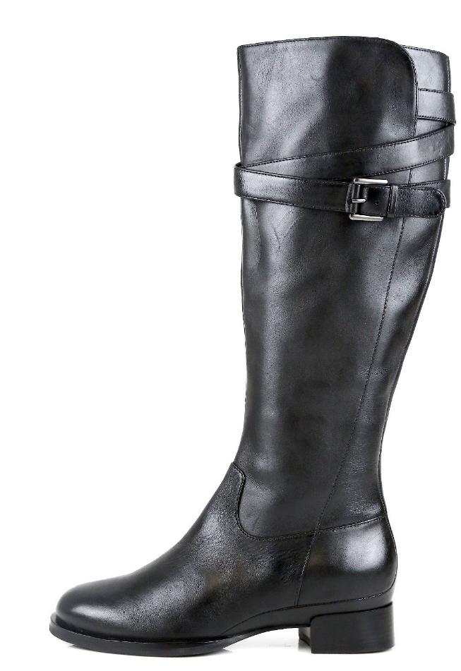 ECCO ECCO ECCO Sullivan Womens Black Leather Boot Sz 35 EUR 3406  06d227