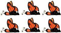 Anne Geddes Baby Scrapbook Stickers Monarch Butterfly Set Of 6