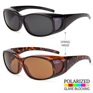 81572a1e4da6 Image is loading 1-Pair-POLARIZED-Tortoise-cover-put-over-Sunglasses-