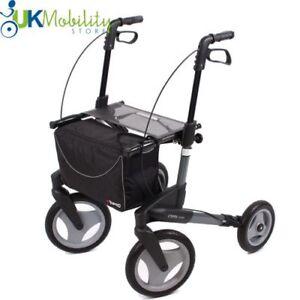 Topro Olympos 4 Wheel Lightweight Folding Rollator Outdoor