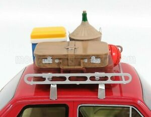 LAUDORACING 1/18 ACCESSORIES   PER FIAT 126 - ROOF RACK BAGGAGE INCLUDED - PO...