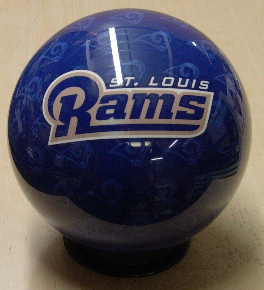 = 16NOS NIB Bowling Ball OTB Viz-A-Ball NFL Rare 2010 St. Louis RAMS