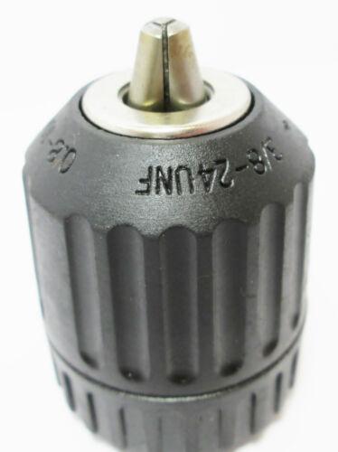 Keyless Drill Chuck 10 mm 3//8 pouces x 24 UNF Filetage DR194