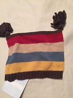 Gymboree Little Conductor Boys Sweater Hat Size 0-3 Months
